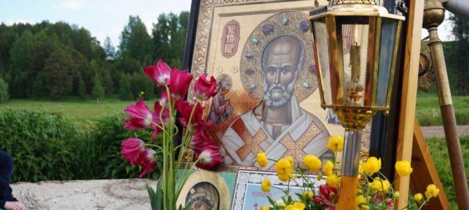 Состоялся крестный ход с чудотворным и явленным образом Николая Чудотворца